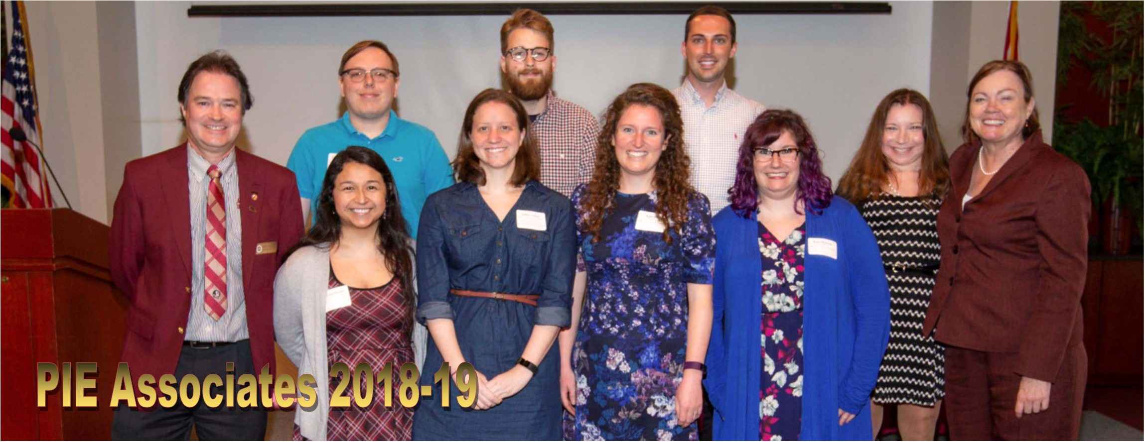 PIE Associates 2018-19 at the Celebration of Graduate Student Excellence